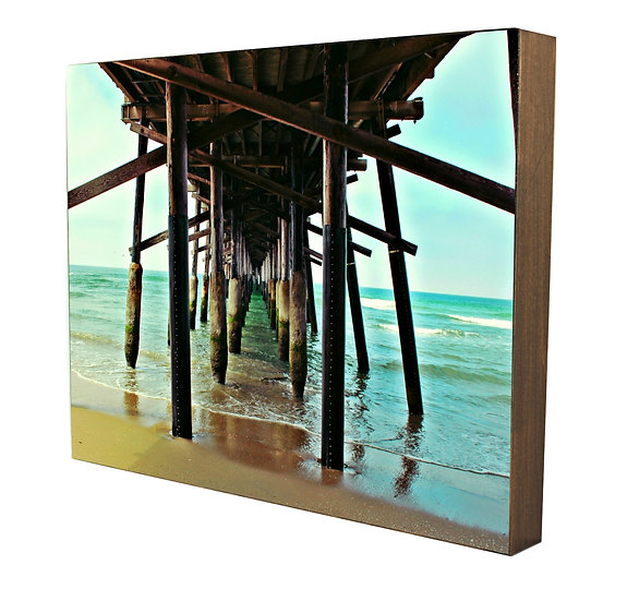 Newport Beach Pier Handcrafted Artwork