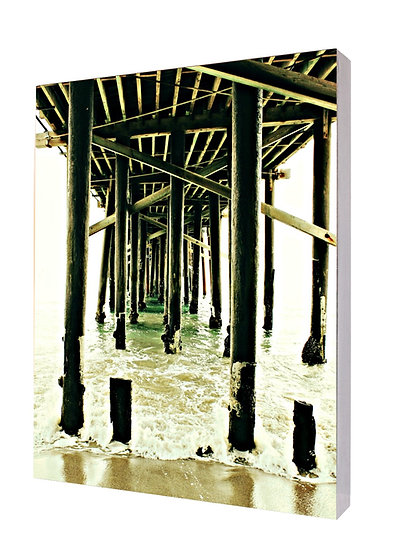Malibu Pier Handcrafted Artwork