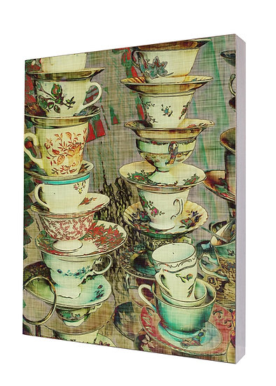 Tea Time Handcrafted Artwork