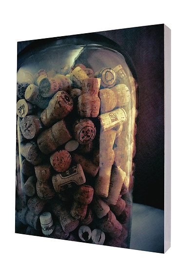 Bottle Corks Handcrafted Artwork