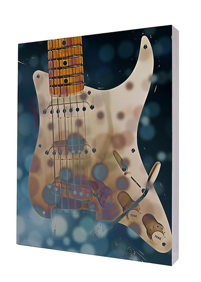 Urban Natural Designs Guitar handcrafted photography artwork