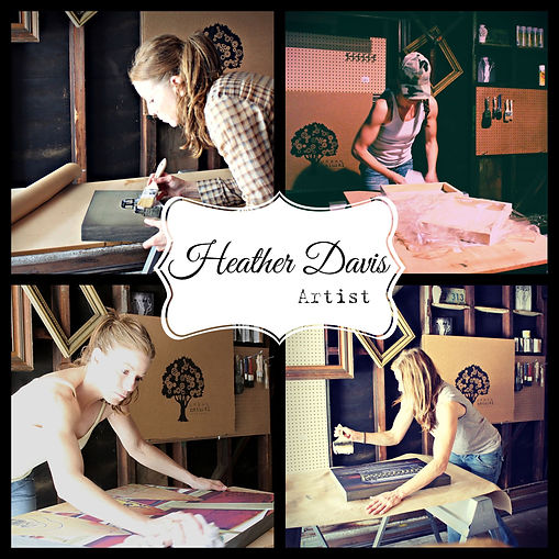 Heather Davis, artist Urban Natural Designs