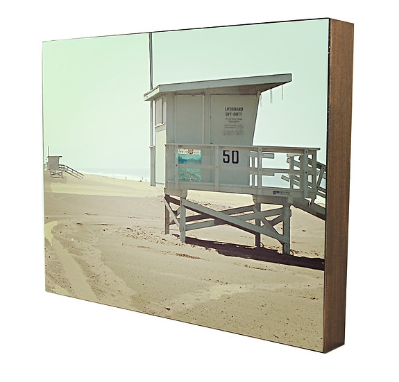 lifeguard tower photography artwork handcrafted Urban natural Designs