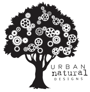 Urban Natural Designs tree logo