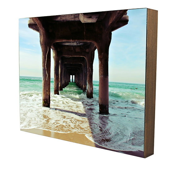 Manhattan Beach Pier Handcrafted Artwork