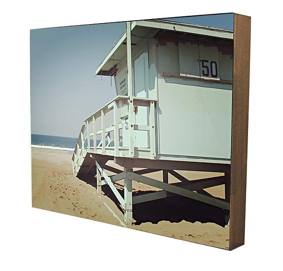 Urban Natural Designs Lifeguard Tower handcrafted photography artwork Urban Natural Designs