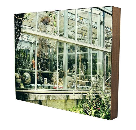 Greenhouse I Handcrafted Artwork