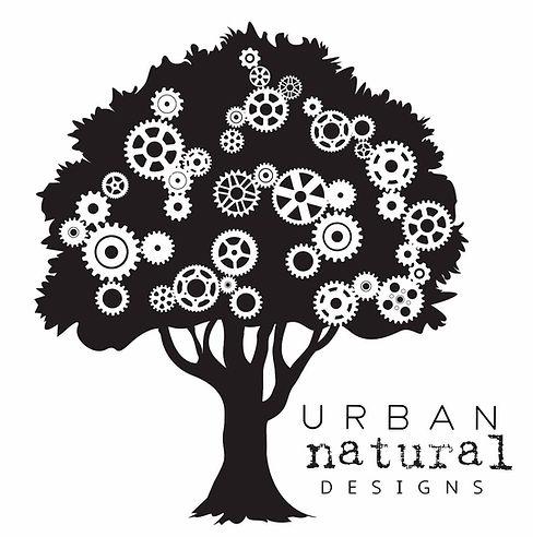 Urban Natural Designs tree logo