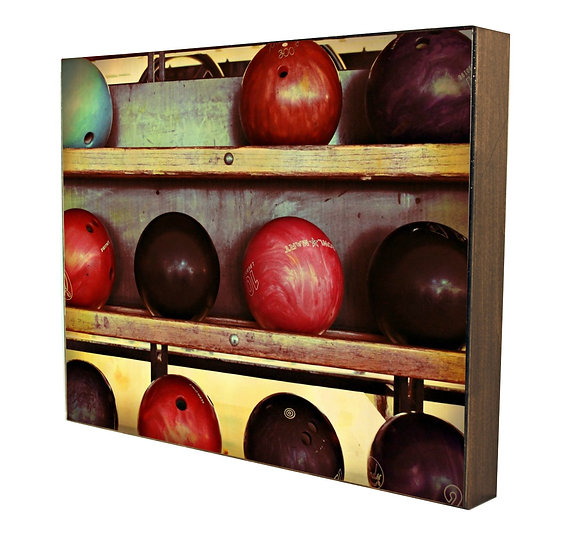 Bowling Balls Handcrafted Artwork