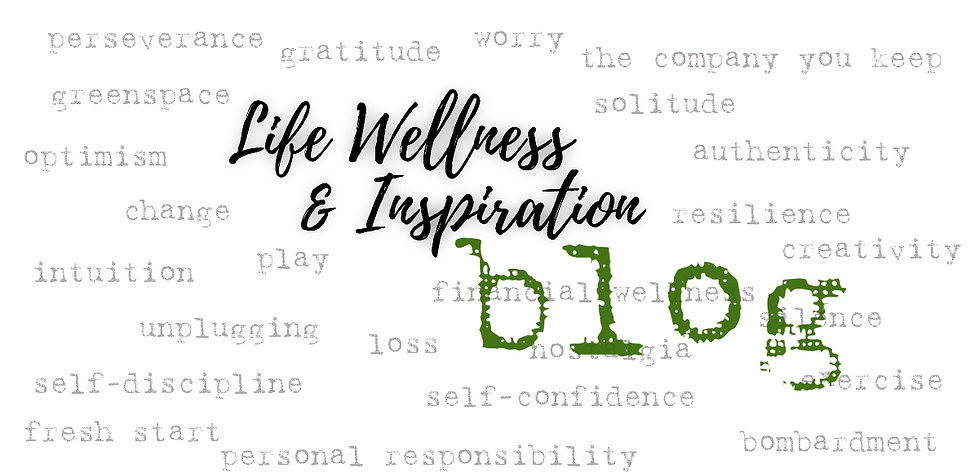wellness inspiration blog Urban Natural Designs