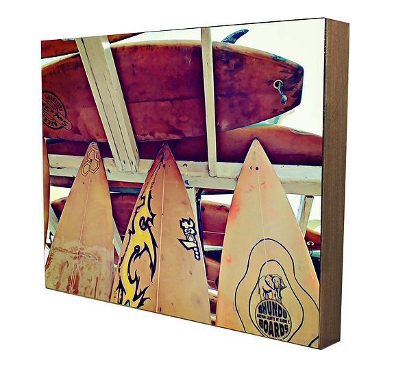 Beach Boards I Handcrafted Artwork