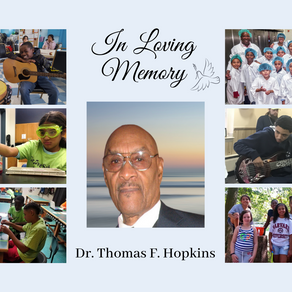 Donate In Loving Memory of Dr. Thomas F. Hopkins