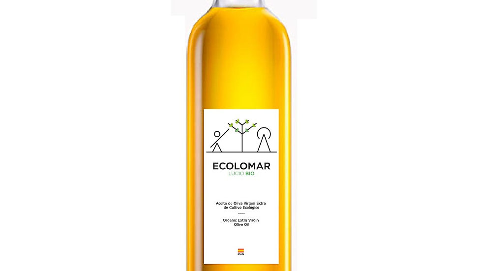 Caja de Aceite de Oliva Virgen Extra Ecológico Ecolomar - 750ml. x 12 ud.