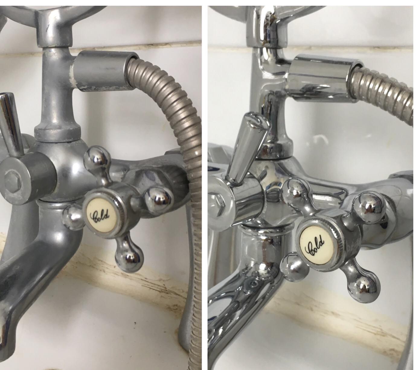 Limescale taps
