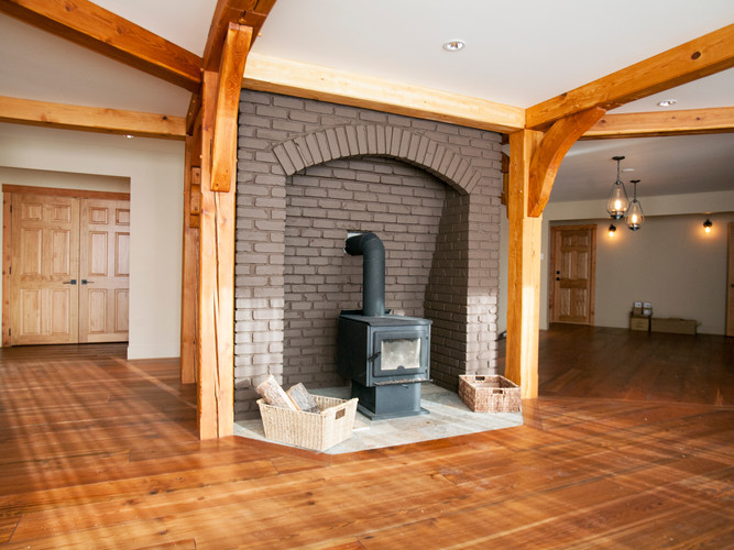 Cabin - Fireplace