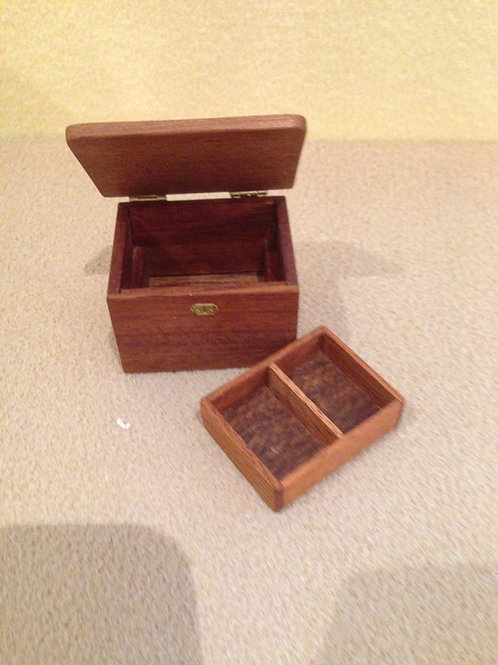 Wooden memory box.