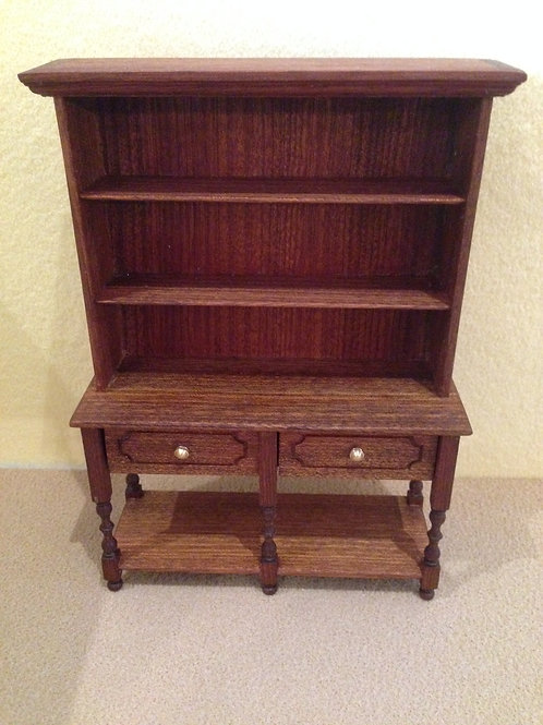 Mahogany Side Unit Dresser.
