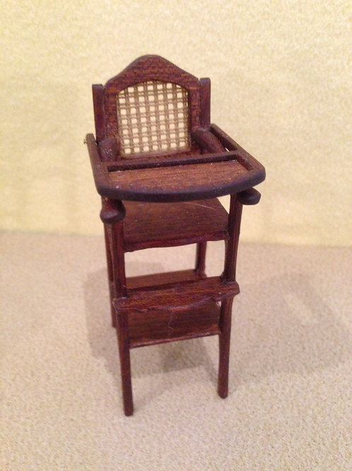 Mahogany High Chair