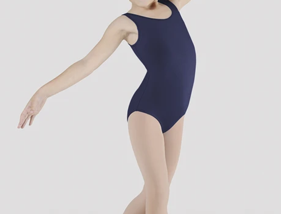 CL5605 Navy Tank Leotard