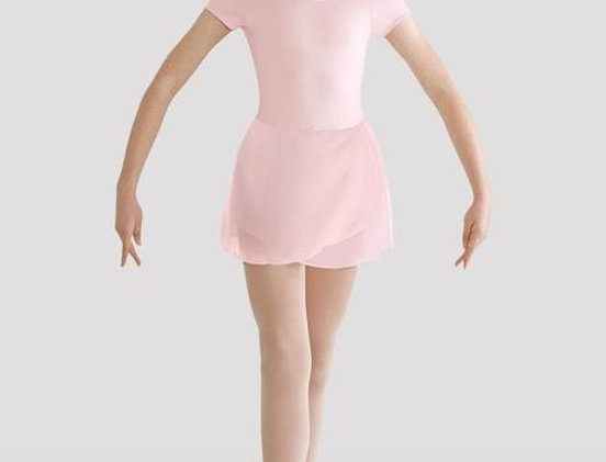 Bloch CL8262 Short Sleeved Leotard with Skirt