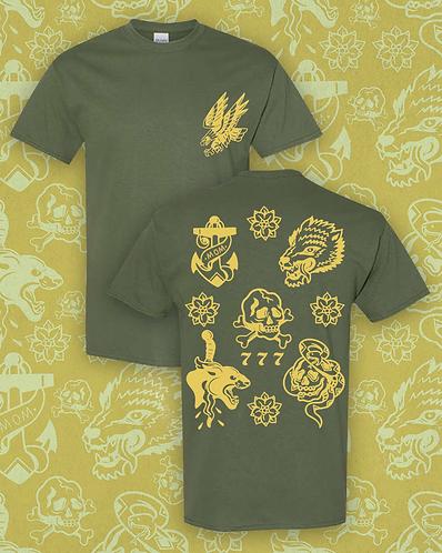 Tattoo Flash T-shirt
