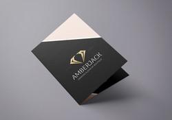 Amberjek . עיצוב ברושור