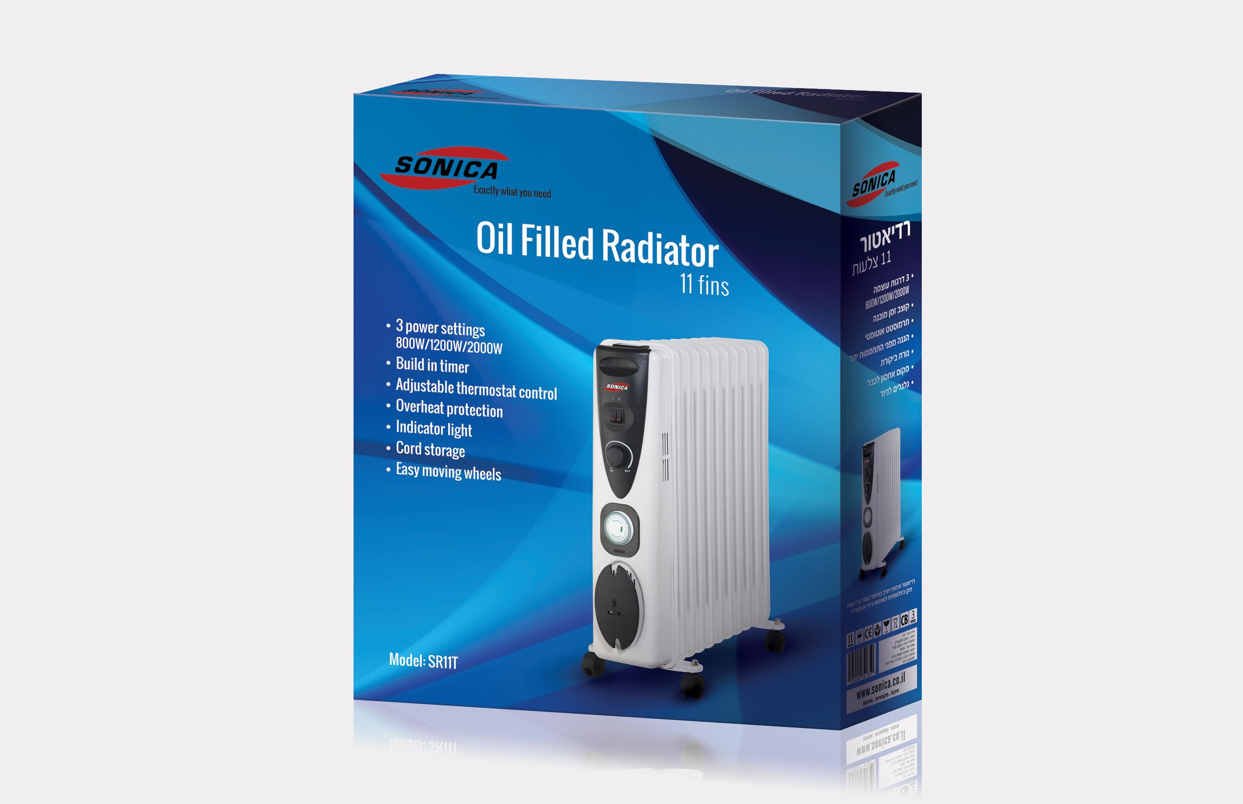 Radiator 11fins