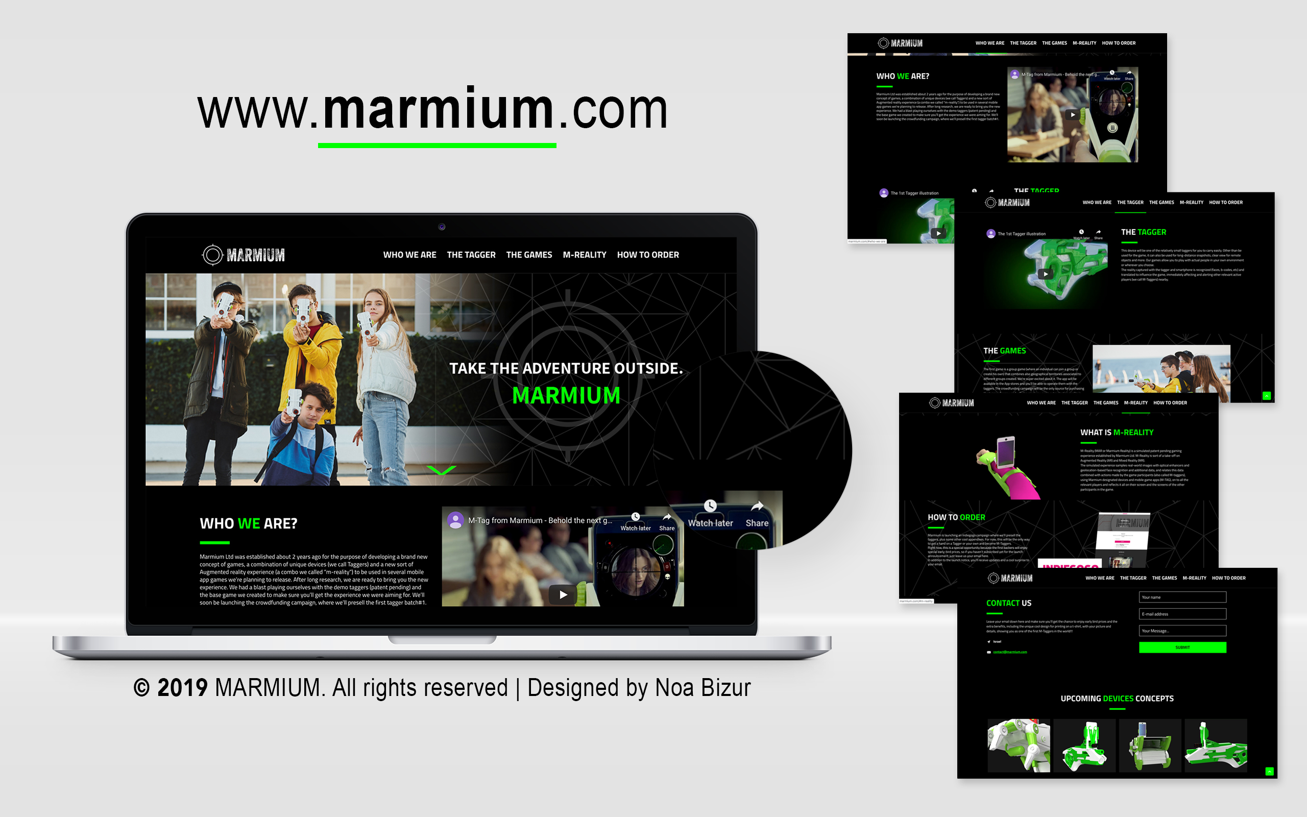 Marmium . עיצוב אתרים