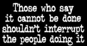 act, dont interrupt