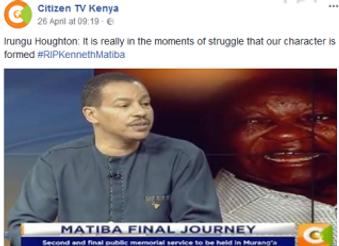 Kenneth Matiba was a Man of Conscience