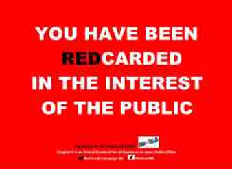 Time to pull out the red-cards, the party primaries are upon us