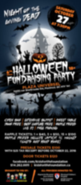 6th Annual Kids For Life Foundation Halloween Fundraising Party Night Of The Giving Dead