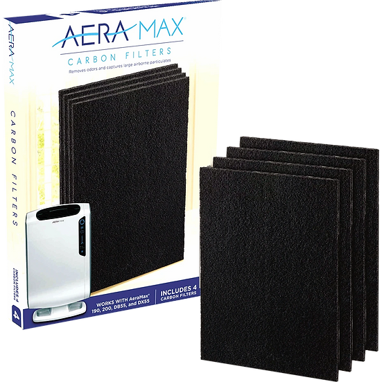 AeraMax Carbon Filters for 190/200/DX55 Air Purifier - 4-Pack