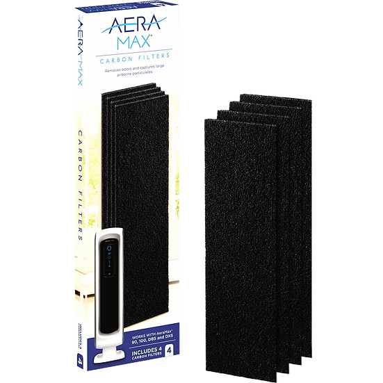 AeraMax Carbon Filters for 90/100/DX5 Air Purifier - 4-Pack