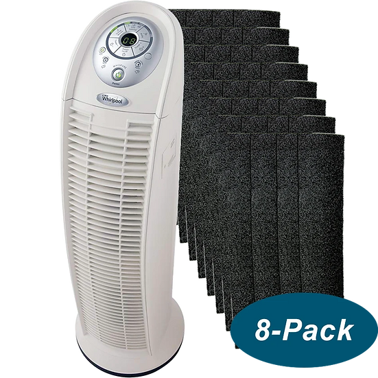 Whirlpool Whispure True HEPA Tower Air Purifier and Filter Bundle