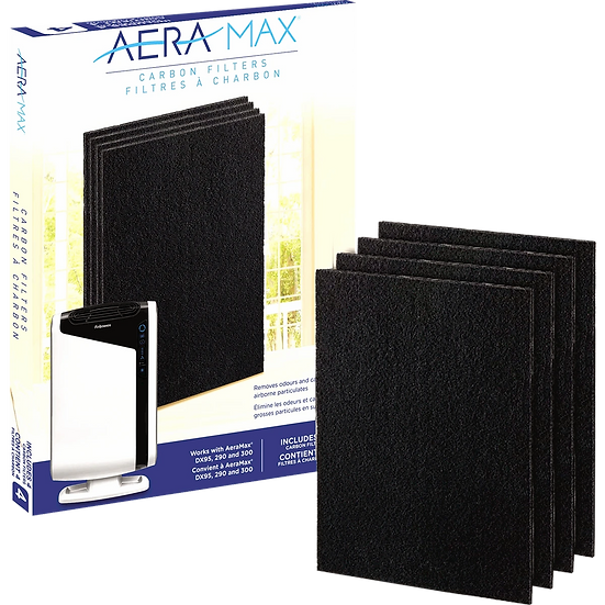 AeraMax Carbon Filters for 290/300/DX95 Air Purifier - 4-Pack