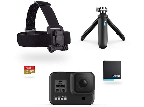 Go Pro Hero 8 Black / Holiday Bundle