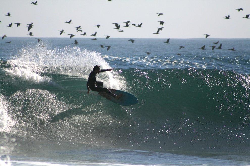Clase individual de Surf