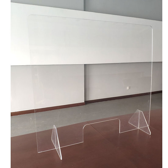 OS All Acrylic Desk Top Screen with Transaction Space