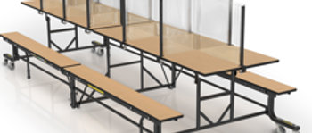 Safety Divider DS-3072-6 (Seats 12)