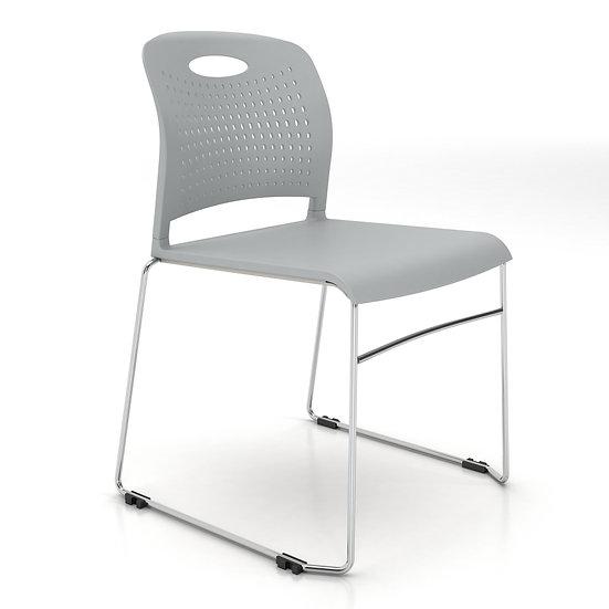 AIS Triad Stack Chair -Light Grey