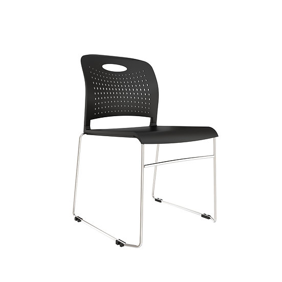 AIS Triad Stack Chair - Black
