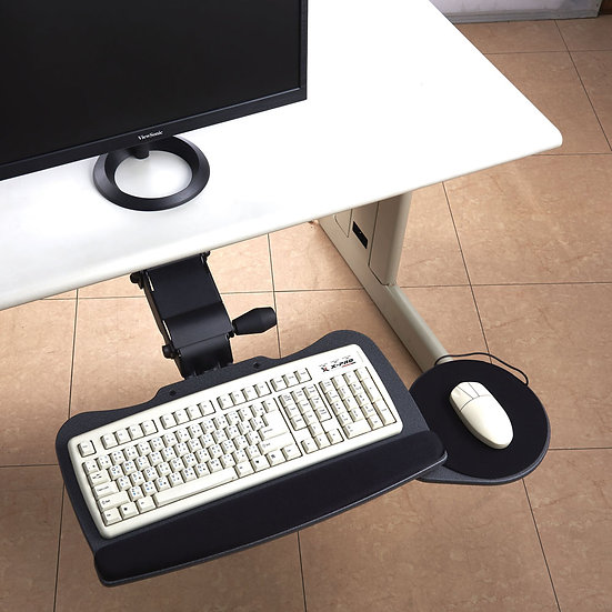 OS Lift and Lock with Tear Drop Keyboard Tray