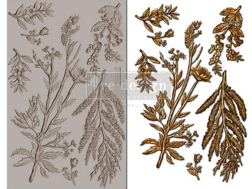 Decor mold 'Herbology'