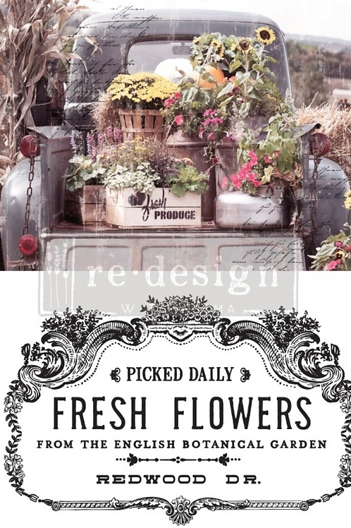 Decor Transfer 'Fresh Flowers'