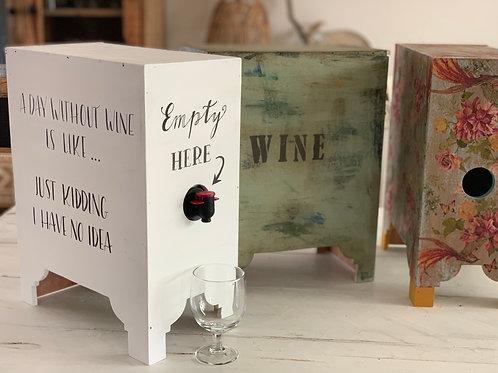 Wine box cooler