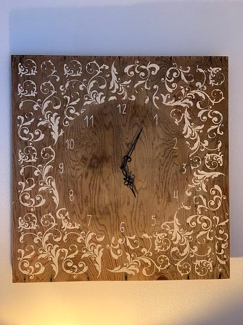 Wall clock 'springtime'