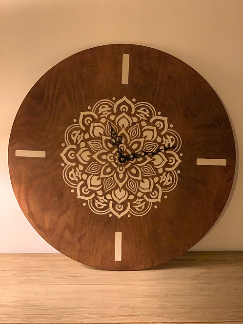 Wall clock 'Mandala'