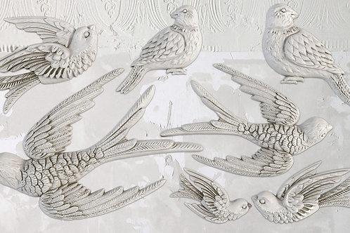 Decor Mold 'Bird Song'
