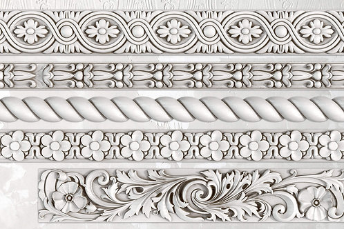 Decor mold 'Trimmings2'